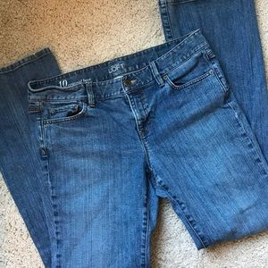 Ann Taylor Loft Original Bootcut Jeans size 10